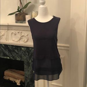 Michael Kors navy tank top, size small